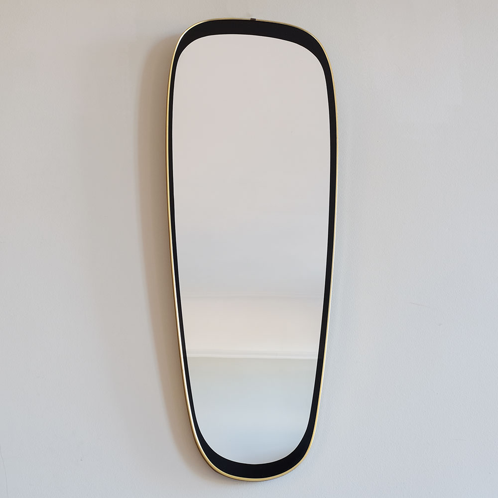 Oval-Mirror-with-Black-and-Brass-Surround