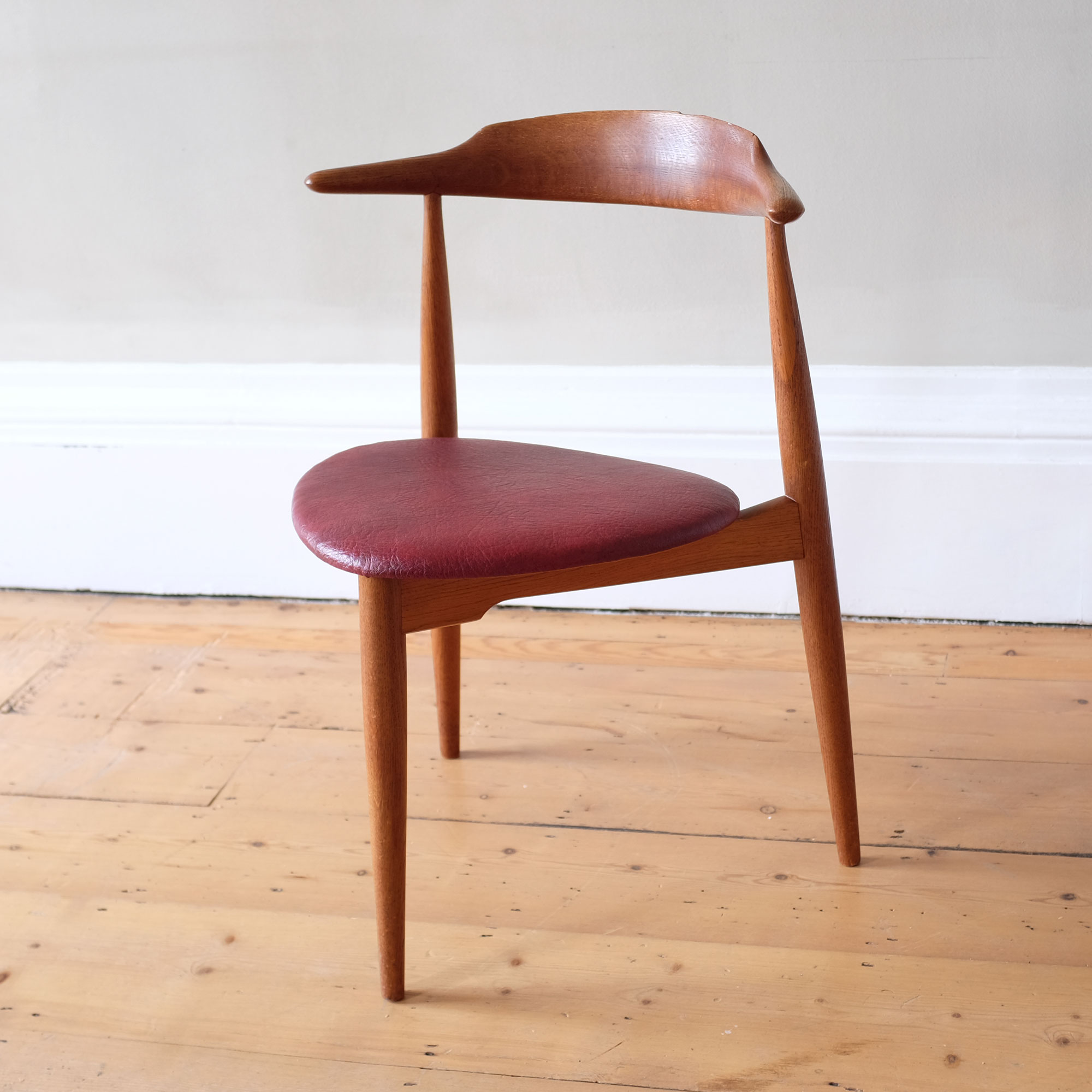 Vintage-Hans-Wegner-Heart-Chair